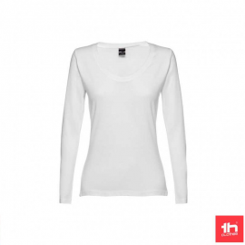 Camiseta m/l TH Clothes Bucharest blanco mujer