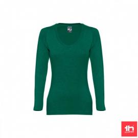 Camiseta manga larga TH Clothes Bucharest verde mujer