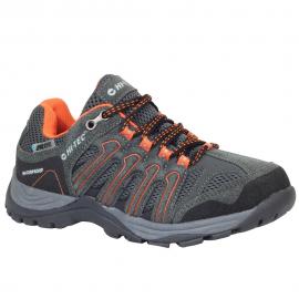 Zapatillas montaña Hi-Tec Gregal Low Wp gris naranja junior