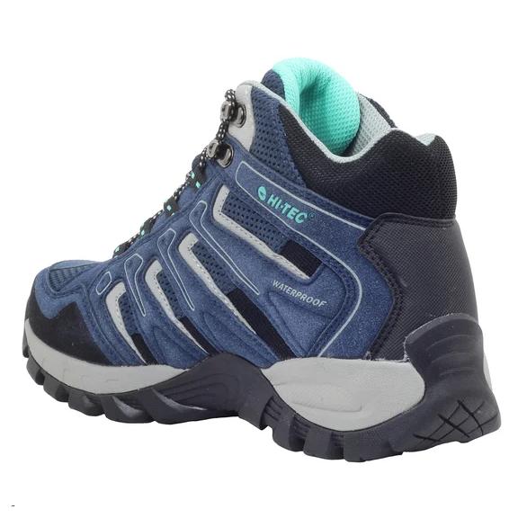 Botas trekking Hi-Tec Torca Mid azul mujer