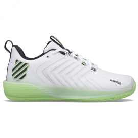 Zapatillas tenis K-Swiss Ultrashot 3 blanco/verde hombre