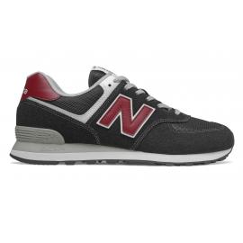 Zapatillas New Balance ML574SSL negro/rojo hombre