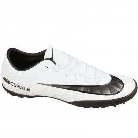 Zapatillas futbol Nike MercurialX victory VI CR7 tf blanco
