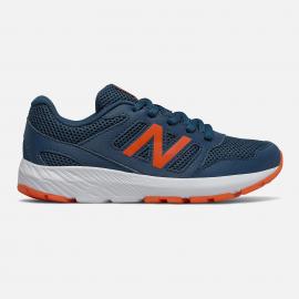 Zapatillas New Balance YK570BO2 azul/naranja junior