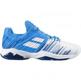 Zapatilla tenis Babolat Propulse Fury All Court blaca/azul