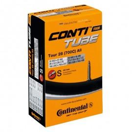 Camara Continental Tour 28 700x 32 a 47 valvula presta 42 mm