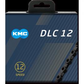 Cadena Kmc DLC12 negra-negra 126 eslabones 12 velecidades
