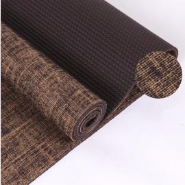 Esterilla Yoga PVC alta densidad 183x61x0.6cm marrón
