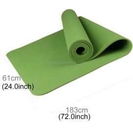 Esterilla Yoga Antideslizante 6 mm 183x61cm verde