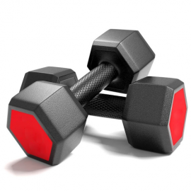 Mancuernas Red Seal 4kg x2 Hexagon Dumbbells