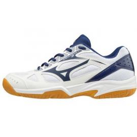 Zapatillas indoor Mizuno Cyclone Speed blanco/azul junior