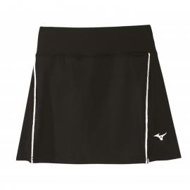 Falda tenis/pádel Mizuno Hex Rect negro mujer