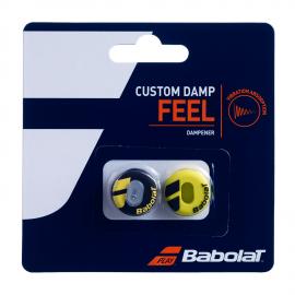 Antivibradores Babolat Custom Damp X2 negro/amarillo