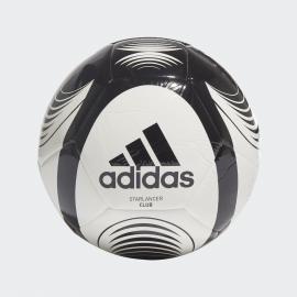 Balón fútbol adidas Starlancer Club blanco/negro