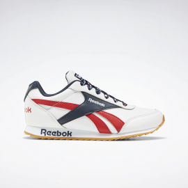 Zapatillas Reebok Royal Cl Jogger 2 blanco/azul/rojo junior