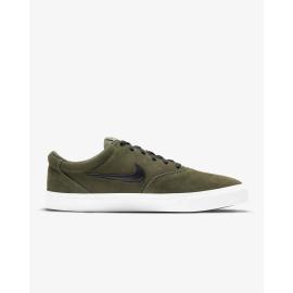 Zapatillas Nike SB Charge Suede Skate kaki/negro hombre