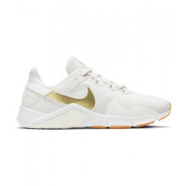 Zapatillas Nike Legend Essential 2 blanco/oro mujer