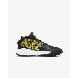 Zapatillas Nike Team Hustle D9 negro/amarillo junior