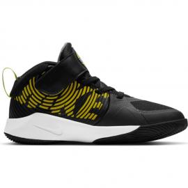 Zapatillas Nike Team Hustle D9 (PS) negro/amarillo junior