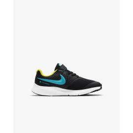 Zapatillas Nike Star Runner 2 (PSV) negro/azul junior