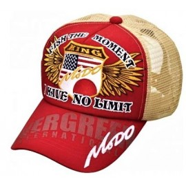 E.G. Modo Mesh Cap Type 2 - Red/Beige