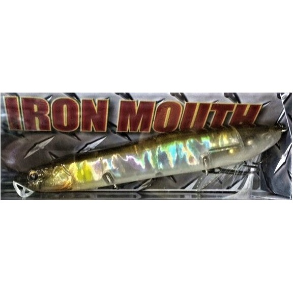 Iron Mouth 12,8cm. 25gr. c. Flash Ayu