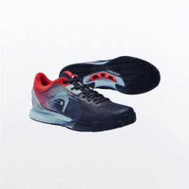 Zapatillas Head Sprint Pro 3.0 Sanyo azul rojo hombre