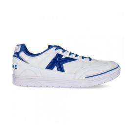 Zapatillas fútbol Kelme Trueno Sala Canvas blanco/royal homb