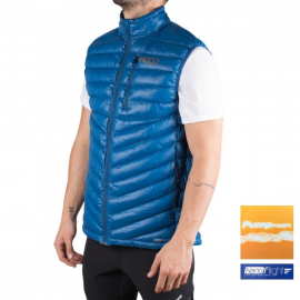 Chaleco +8000 Bistorta azul hombre