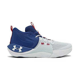 Zapatillas Under Armour Embiid 1 blanco royal unisex