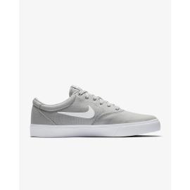 Zapatillas Nike SB Charge SLR gris blanco hombre