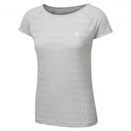 Camiseta deportiva Defy Dare2b gris mujer