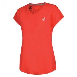 Camiseta Deportiva Vigilant Dare2b Coral mujer