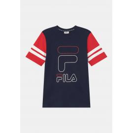 Camiseta Fila Juniot marino rojo junior
