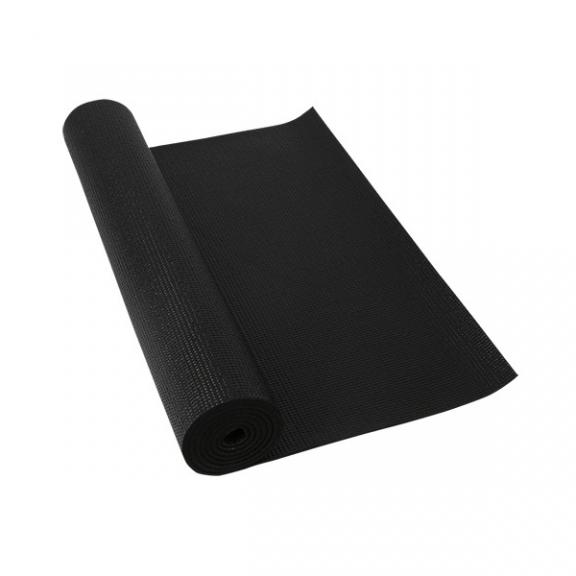 Colchoneta pilates/yoga Deluxe negro 180x60cm