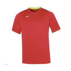 Camiseta Mizuno Team Core rojo hombre