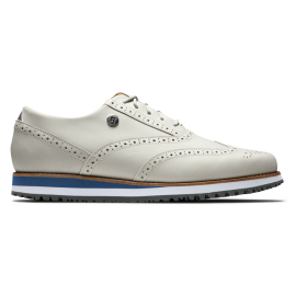 Zapatos golf Footjoy Sport Retro beige mujer