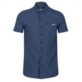 Camisa outdoor  Kioga II Regatta azul hombre