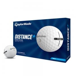 Bolas golf TaylorMade Distance+ docena blanco