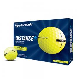 Bolas golf TaylorMade Distance+ docena amarillo