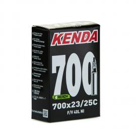 Camara Kenda 700 23/25C valvula fina o presta 40mm
