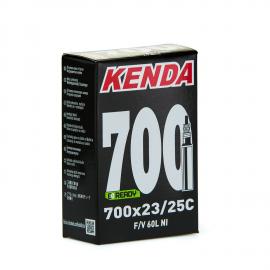 Camara Kenda 700 23/25C valvula fina o presta 60mm