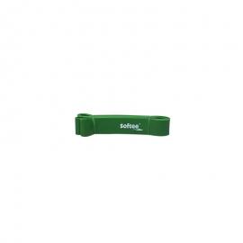 Banda de resistencia Softee 4.4cm verde