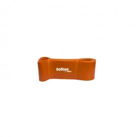 Banda de resistencia Softee 8.3cm naranja