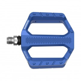Pedal  Flat for Explorer Shimano PD-EF202 blue