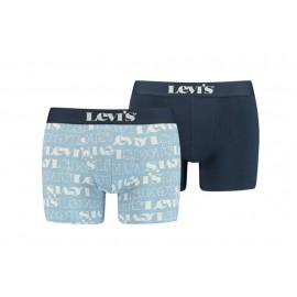 Bóxer Levis Logo AOP azul...
