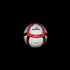 Balón fútbol Mercury Extreme blanco rojo
