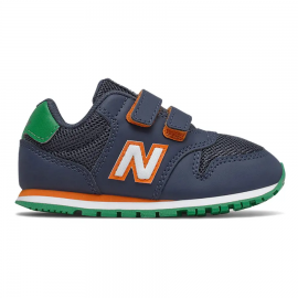 Zapatillas New Balance IV500WNO marino/naranja/verde bebé