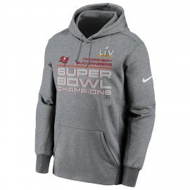 Sudadera Nike Champions Superbowl Bucanners gris hombre