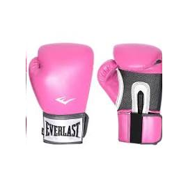 Guantes boxeo Everlast Prostyle rosa